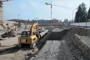 """<div class=""""bildtext"""">Gemeinsames Konzept: Auf Basis des Werkstoffes Beton entwickelten die Baupartner eine ideale Lösung für die aufwändige Herstellung des Lüftungskanals</div>"""