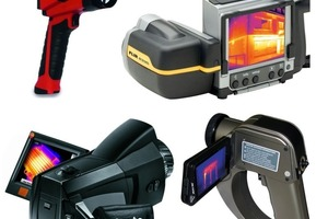 """<span class=""""bildunterschrift_hervorgehoben"""">Fig. 9</span> Thermal imaging cameras are available in many de<br />signs, for a wide array of applications and in all price ranges."""