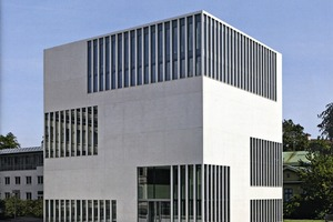 The cover of the new Dyckerhoff Weiss brochure on colored architectural concrete