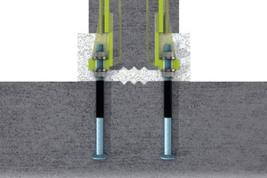 """<div class=""""bildtext_en"""">A totally new concept, seismic-proof bolted column connection ofPeikko can lead to substantial savings both in building process and in concrete usage</div>"""