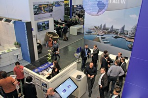 The well-attended stand of Vollert Anlagenbau at the Bauma 2016