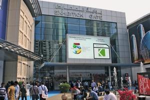 """<div class=""""bildtext"""">Die größte Baumesse des Mittleren Ostens findet in diesem Jahr vom 21. bis 24. November im World Trade Center Dubai statt</div>"""