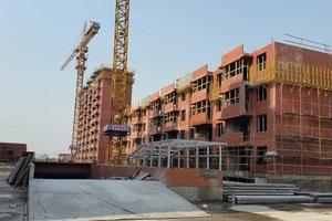 """<div class=""""bildtext"""">Das Unternehmen Shanghai Citi-Raise Construction Group baut gegenwärtig mehrgeschossige Mehrfamilienhäuser mit Hilfe der neuen Spancrete Fertigteilanlage</div>"""
