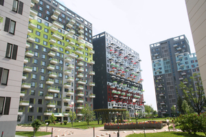 """Reckli form liners were used for the façade design of the """"Edalgo"""" complex"""