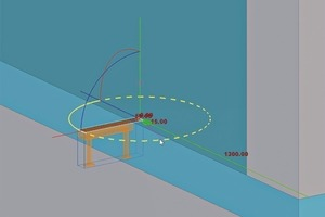 """<div class=""""bildtext_en"""">Drawing auxiliary lines, circles, dots and positioning user-defined parts issimplified</div>"""
