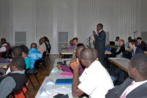 Ein während des Abschlusstreffens an der BAM durchgeführtes offenes Seminar bot den Teilnehmern und der Öffentlichkeit die Möglichkeit, Fragestellungen der Qualitätssicherung und der Zementmärkte in Afrika zu erörtern