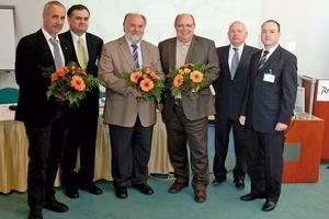 Abb. 1 Übergangsvorstand v.l.n.r: Thomas Jung (Vorsitzender), Gerald Rollett, Dr. Eike Bielak, Michael Warzecha, Gert-Dietrich Reuter, Dr. Steffen Wiedenfeld.