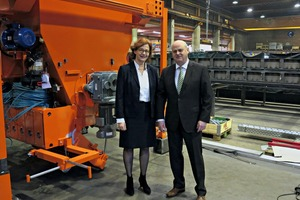 "<div class=""bildtext_en"">The Managing Director of Avermann Betonfertigteiltechnik GmbH &amp; Co. KG Dr. Maike Keller and Lutz Pfleger </div>"