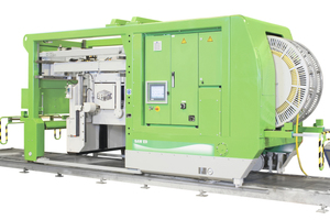 """<div class=""""bildtext_en"""">Elematic Saw E9-500 can easily be adapted to existing productions lines </div>"""
