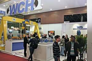 """<div class=""""bildtext_en"""">The German plant engineering company Weckenmann shared the stand with its Brazilian cooperation partner WCH Weiler C. Holzberger, the sameas last year</div>"""