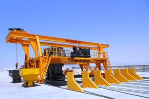 Spancrete GT-120 production system, Jubail, Saudi Arabia