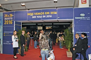 """<div class=""""bildtext_en"""">The trade show organizer UBM Sienna also expects visitor and exhibitor growth rates for the tenth edition of the São Paulo Concrete Show</div>"""