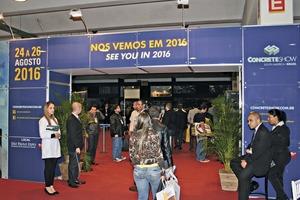 """<div class=""""bildtext"""">Messeveranstalter UBM Sienna erhofft auch für die zehnte Auflage der Concrete Show São Paulo Wachstumsraten</div>"""