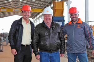 "<div class=""bildunterschrift_en"">WCH sales manager Eduardo Mucillo, Rotesma president José Antônio Tessari and BFT editor Silvio Schade (right to left) during their production site visit</div>"