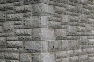 """<span class=""""bildunterschrift_hervorgehoben"""">Abb.1 </span> Ecke in Mauerwerksstruktur an einem Rohbau. [Photo: NOESchaltechnik]<br />"""