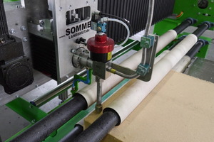 The processing center can process a range of insulation materials – from EPS to rock wool and hemp
