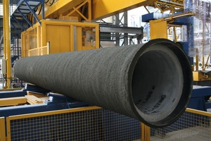 """<div class=""""bildtext_en"""">Prestressed PCCP concrete cylinder pipes with embedded steel cylinder are absolutely impervious and suitable for an operating pressure of up to 25 bar</div>"""