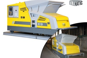 Fig. 1 The new extruder E9 from Elematic for the production of hollow-core slabs.