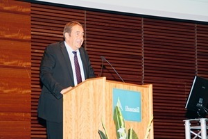 "<div class=""bildtext_en"">Professor Horst-Michael Ludwig is the chairman of the conference committee at Ibausil </div>"
