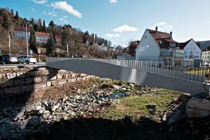 Die laut Solidian weltweit erste Brücke aus Carbonbeton, ebenfalls in Albstadt