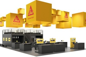 Sika Deutschland will present its numerous fields of expertise at the BAU 2017 trade fair