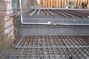 """<div class=""""bildunterschrift_en"""">Pentaflex ABS, shuttering element as assembled before concrete placement</div>"""