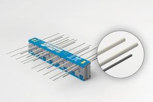 "<div class=""bildtext_en"">The new Isokorb XT Combar construction solution combines two product worlds – Isokorb XT Combar and the composite glass fiber material Combar</div>"