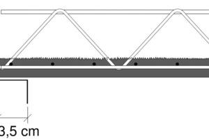"<span class=""bildunterschrift_hervorgehoben"">Fig. 7</span> Minimum support depth according to approval [2, 3] without additional edge yokes."