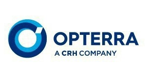 """<div class=""""bildtext_en"""">This is how the Opterra logo looks like, replacing the logo of Lafarge inGermany</div>"""