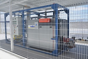 A fully automatic heating plant, as part of the scope of delivery