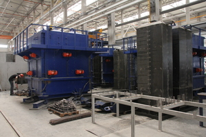"""<div class=""""bildtext_en"""">Shafts for passenger and freight elevators are produced in ten elevator shaft molds with shrinkable cores</div> <div class=""""bildtext_en""""></div> <div class=""""bildtext_en""""></div>"""