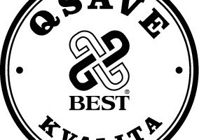 """<span class=""""bildunterschrift_hervorgehoben"""">Fig. 1</span> """"QSave Best Kvalita"""" seal of Best. Products marked with this seal are subject tothe stringent internal quality standards.<br />"""