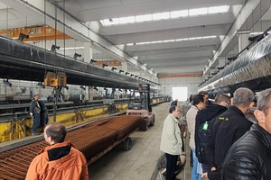 """<div class=""""bildtext_en"""">Needless to say that the agenda included visits to precast concrete plants </div>"""