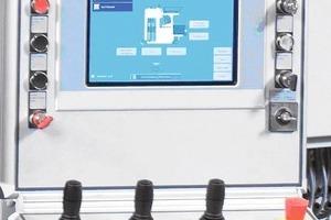 """<span class=""""bildunterschrift_hervorgehoben"""">Abb. 5</span> Touch Panel der neuen Anlage."""