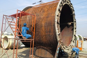"""<div class=""""bildtext_en"""">The steel cylinder is well recognizable beneath the reinforcement layer</div>"""