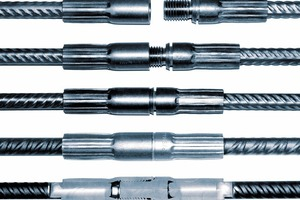 """<div class=""""bildtext_en"""">With the Modix threaded couplers, the reinforcing bars must only be bolted together at the construction site</div>"""