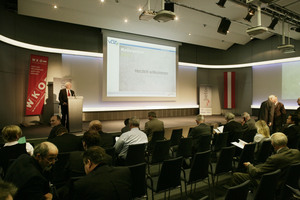 """<div class=""""bildunterschrift_en"""">The colloquium 2012 took place in the large hall of the Austrian Economic Chamber with the participation of about 250 experts</div>"""
