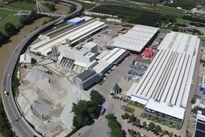 """<div class=""""bildtext_en"""">The PSD developer team at Brixen in Italy – shown here is the headquarters with its own precast plant – and Frankfurt am Main in Germany work out software solutions for the reinforcement and precast industry</div>"""