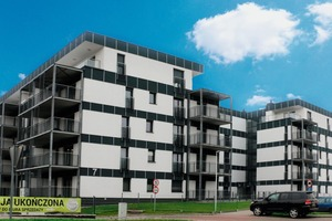 """<div class=""""bildtext_en"""">German precast producer Dennert supplied the ceiling slabs for this building complex with 85 dwelling units in the Polish city of Zabrze</div>"""