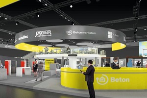 """<div class=""""bildtext_en"""">At the Bau 2017 trade show, InformationsZentrum Beton will be showcasing the versatility of concrete on an area of over 1,000m<sup>2</sup></div>"""