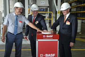 The production line was opened at BASF's site in the Podolsk District (Greater Moscow)
