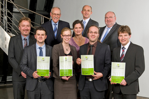 The award winners of the Schöck Bau-Innovationspreis 2013 (Schöck Award for Innovation in Building and Construction) were honored at the Industry Forum held in Ulm
