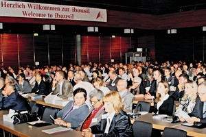 "<div class=""bildtext_en"">Scientists, industry representatives and interested parties from 40 countries attended Ibausil in 2012 </div>"