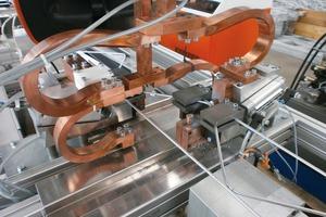 TSM Gitterträgerschweimaschine zur Fertigung von einhüftigen Gitterträgern