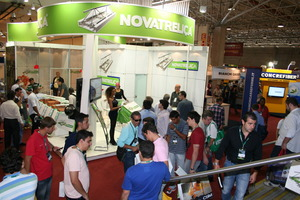 """<div class=""""bildunterschrift_en"""">According to the statistics, about 29,000 industry visitors attended the 2012 Concrete Show in São Paulo </div>"""