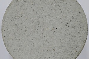 """<div class=""""bildtext_en"""">Detailed image of the concrete surface of the reference specimens containing a CEM II/A-S with a water ratio of 125 l/m³ ...</div>"""