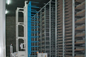Fig. 5 Curing chambers supplied by Rotho provide space for 6,000 boards.