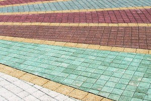 """<div class=""""bildtext_en"""">Even the visual appearance of pavements can be enhanced with the aid ofcolor pigments</div>"""