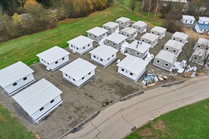 """<div class=""""bildtext_en"""">In Bad Kreuznach there are 60 Concrete Shelters of version 1.0 for the initial reception of refugees </div>"""