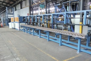 """<div class=""""bildtext_en"""">The PL-Tris Series of lattice-girder welding lines can produce most types and sizes of lattice girders and ensure reliable and cost-effective production</div>"""